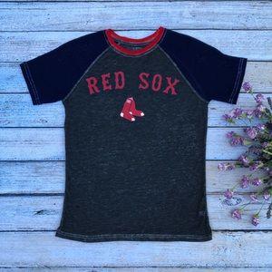 Girls Boston Red Sox Burnout Tee